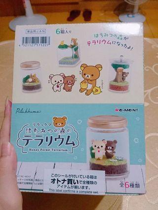 現貨 Re-ment 日本 拉拉熊 懶懶熊  盒玩 瓶中造景 公仔 擺設
