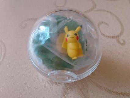 現貨 Re-ment 神奇寶貝 寶可夢 皮卡丘 日本 生態球 壓克力球 擺設 盒玩