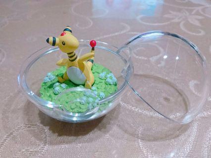 現貨 Re-ment 神奇寶貝 寶可夢 電龍 日本 生態球 盒玩 壓克力球 擺設