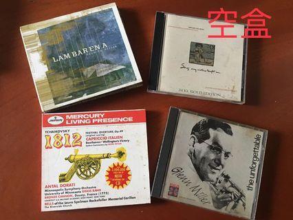 CD空盒4片