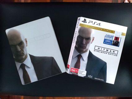 Hitman- The Complete First Season Steelbook Edition PS4
