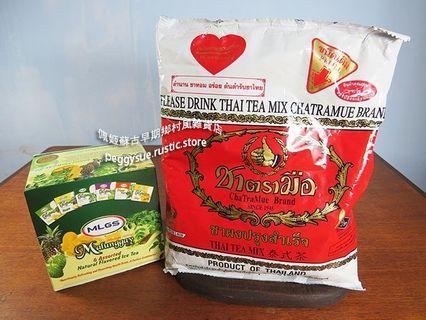 [佩姬蘇 送菲律賓MLGS天然果茶11包](保存期限:2020/04/04)400g手標泰式茶泰國茶泰式奶茶泰式檸檬茶
