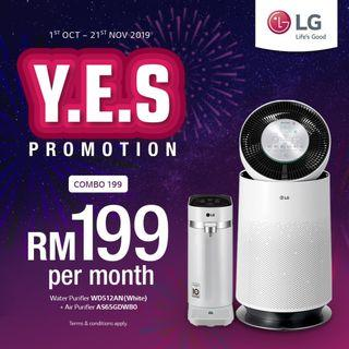 LG PuriCare Combo YES Gala Sale!!