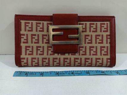Fendi Long Wallet