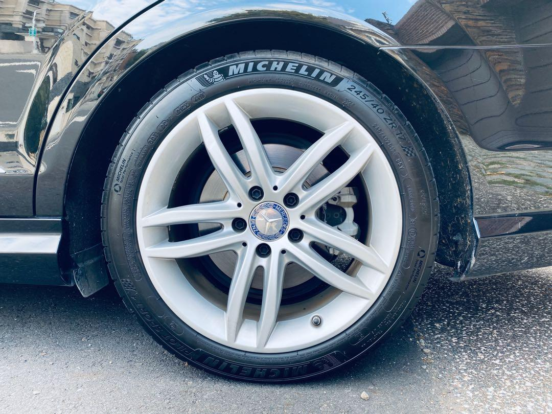 2013 w204 Benz C250 AMG 黑
