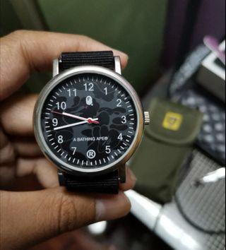 Bape Megazine Watch