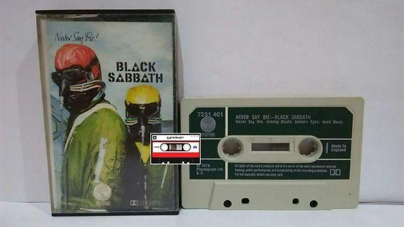 Kaset Black Sabbath - Never Say Die! (1978)