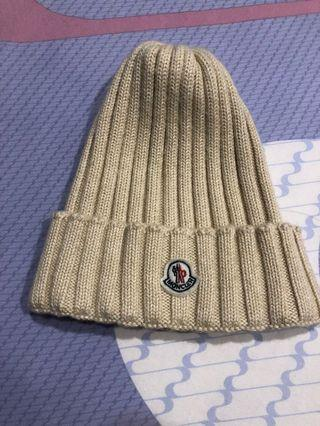 Moncler 100% 羊毛 毛帽 非正品