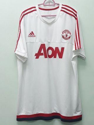 Adidas Manchester United White Shirts XL
