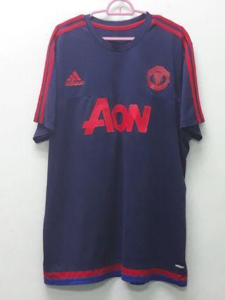 Adidas Manchester United Blue Shirts XL