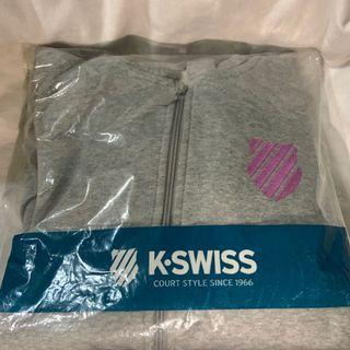 K.swiss連帽刷毛外套