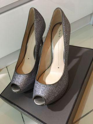 Pedro Heels / Platform Peep Toe / Pump