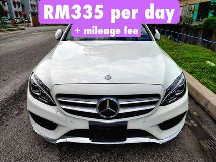 Rent a Mercedes Benz C200 Amg