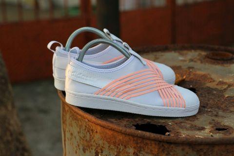 Adidas Superstar Slip On Peach 38-40