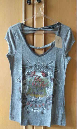 Kaos - Justice Top - Grey Shirt  (NEW)