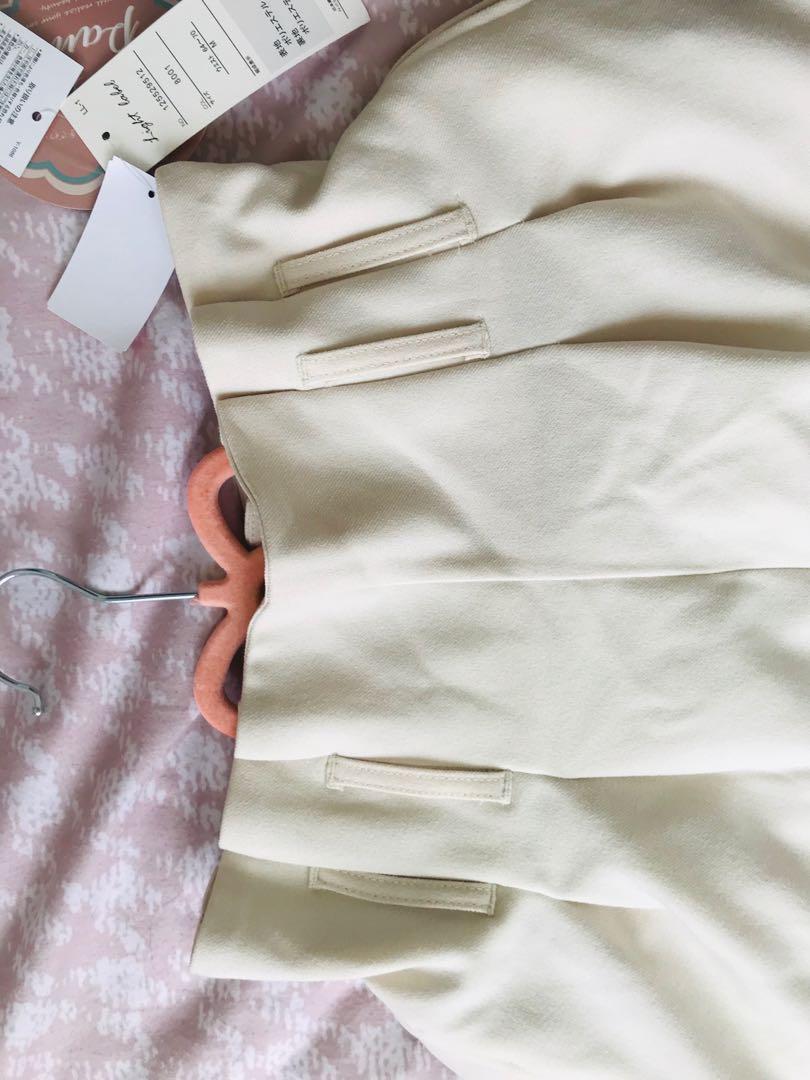 日本品牌花苞腰長褲