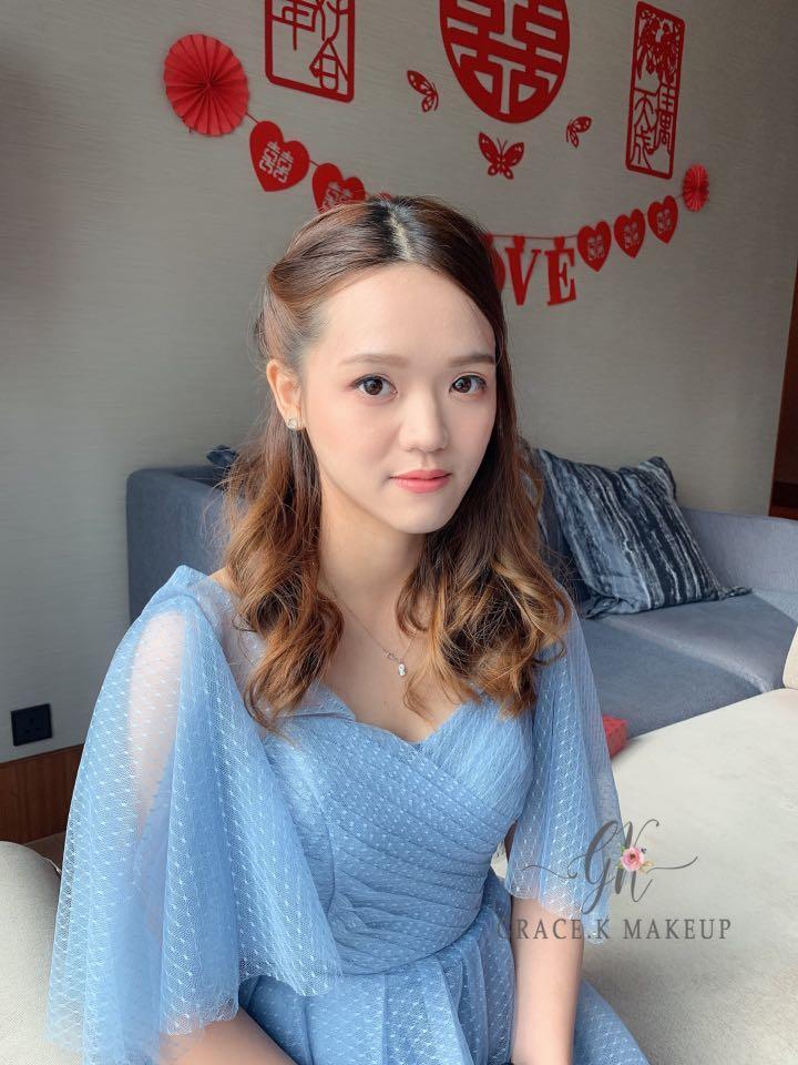 姐妹化妝 奶奶妝 新娘化妝 韓式化妝服務 個人化妝班