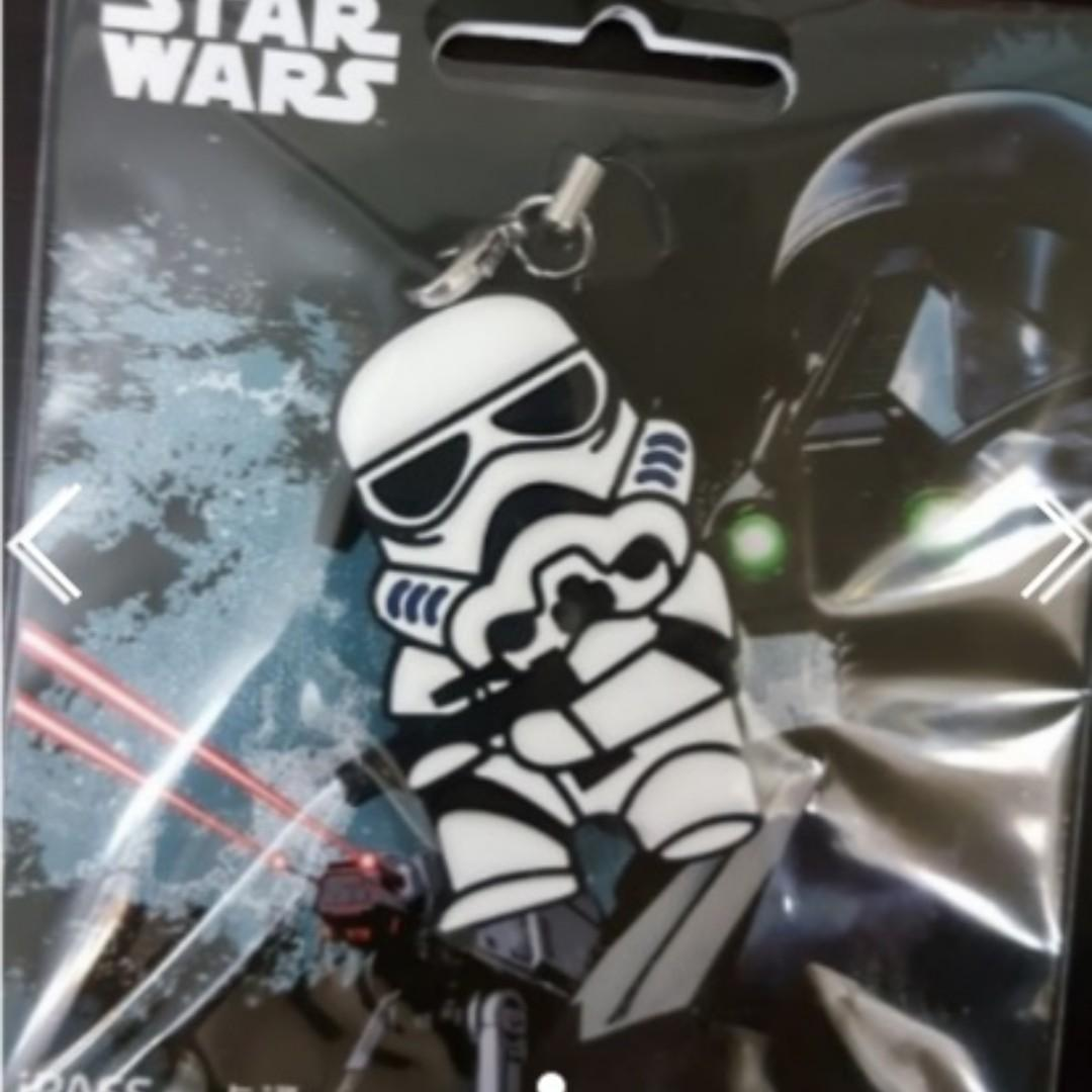 全新 台灣 STAR WARS 星球大戰 白兵 IPASS 造型一卡通 悠遊卡, $95