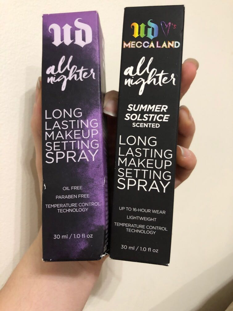 All Nighter Urban Decay Setting Spray Brand new in box