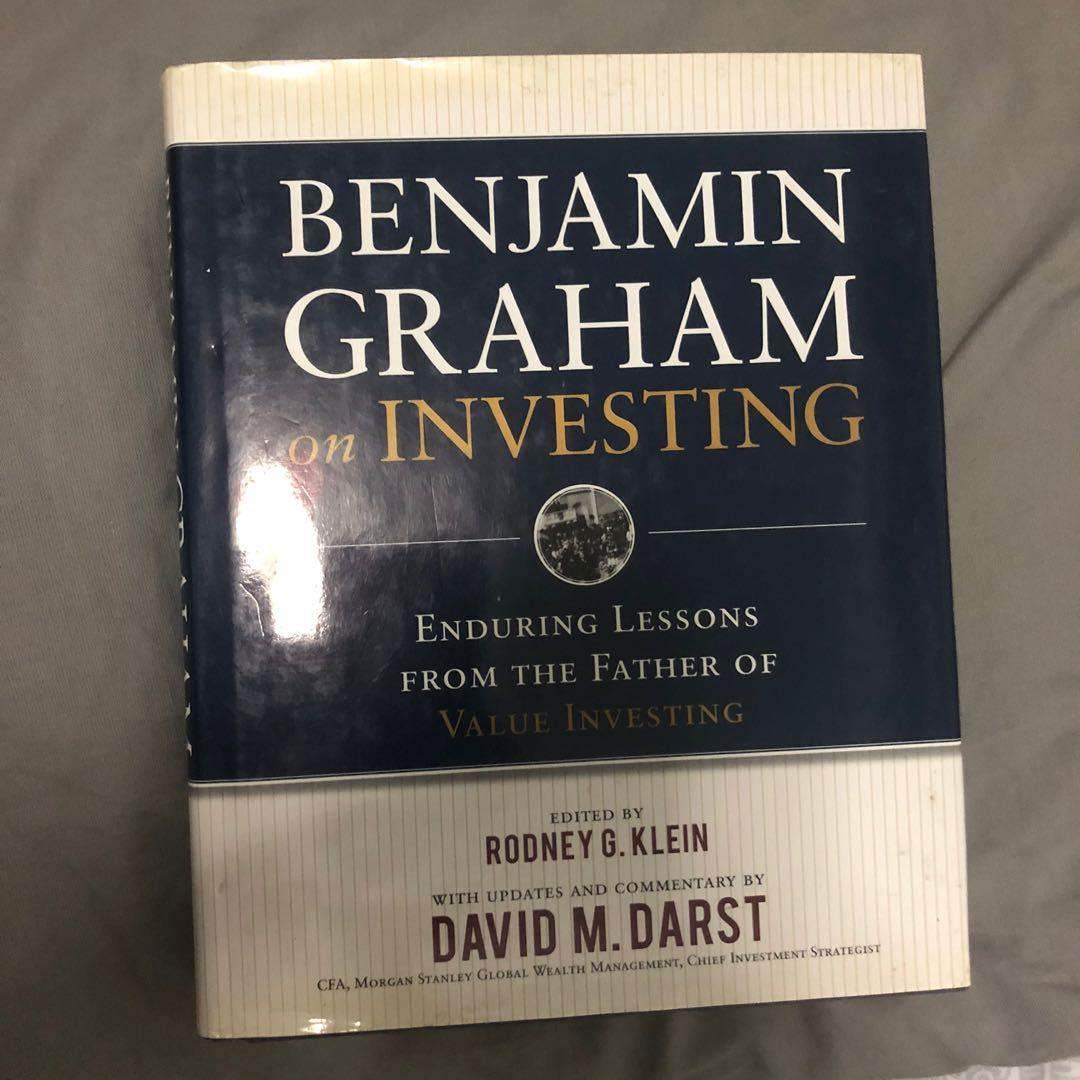 BENJAMIN GRAHAM on INVESTING: Enduring Lessons from the Father of Value Investing  (free SF)