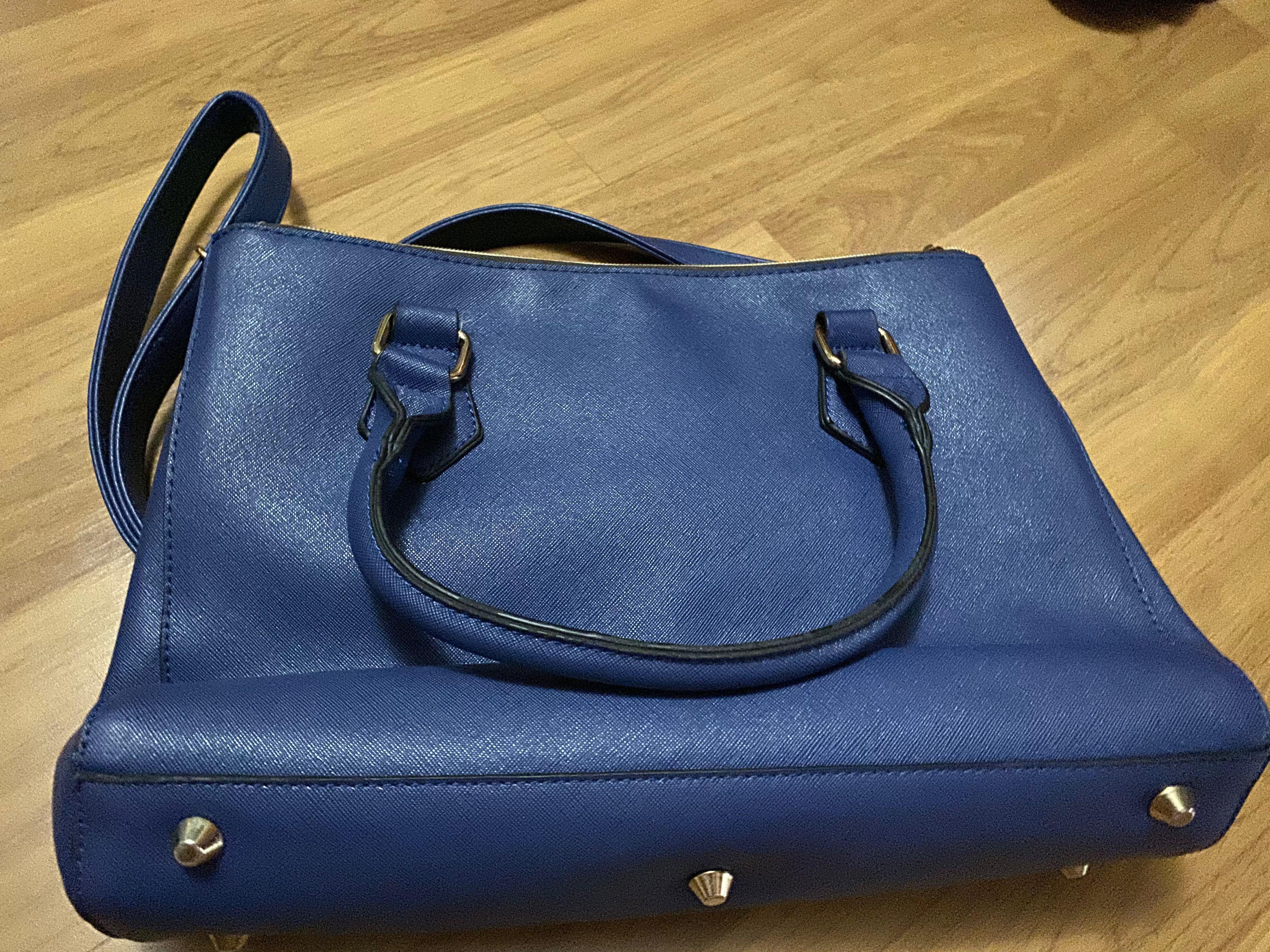 Blue Colour Handbag