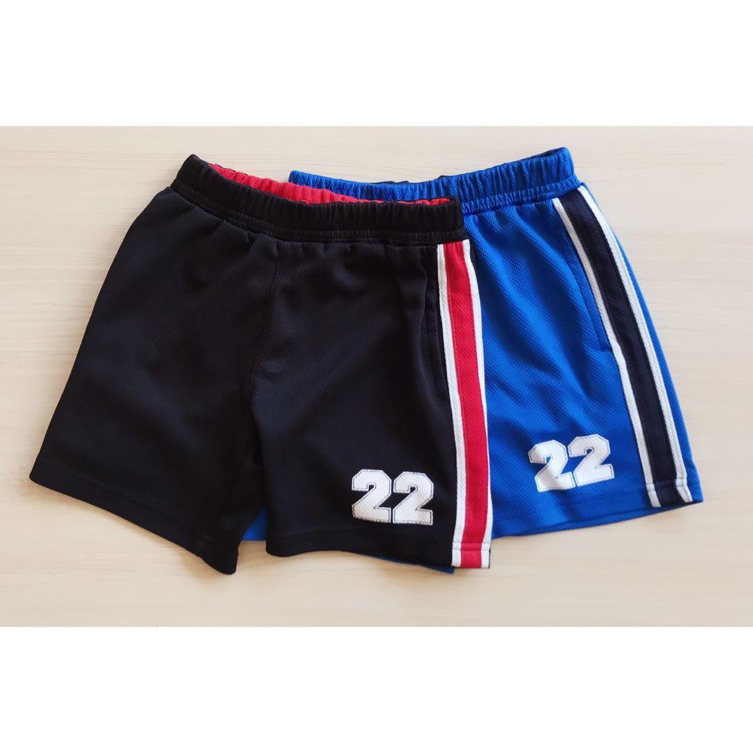 Boys basketball jersey shorts size 3
