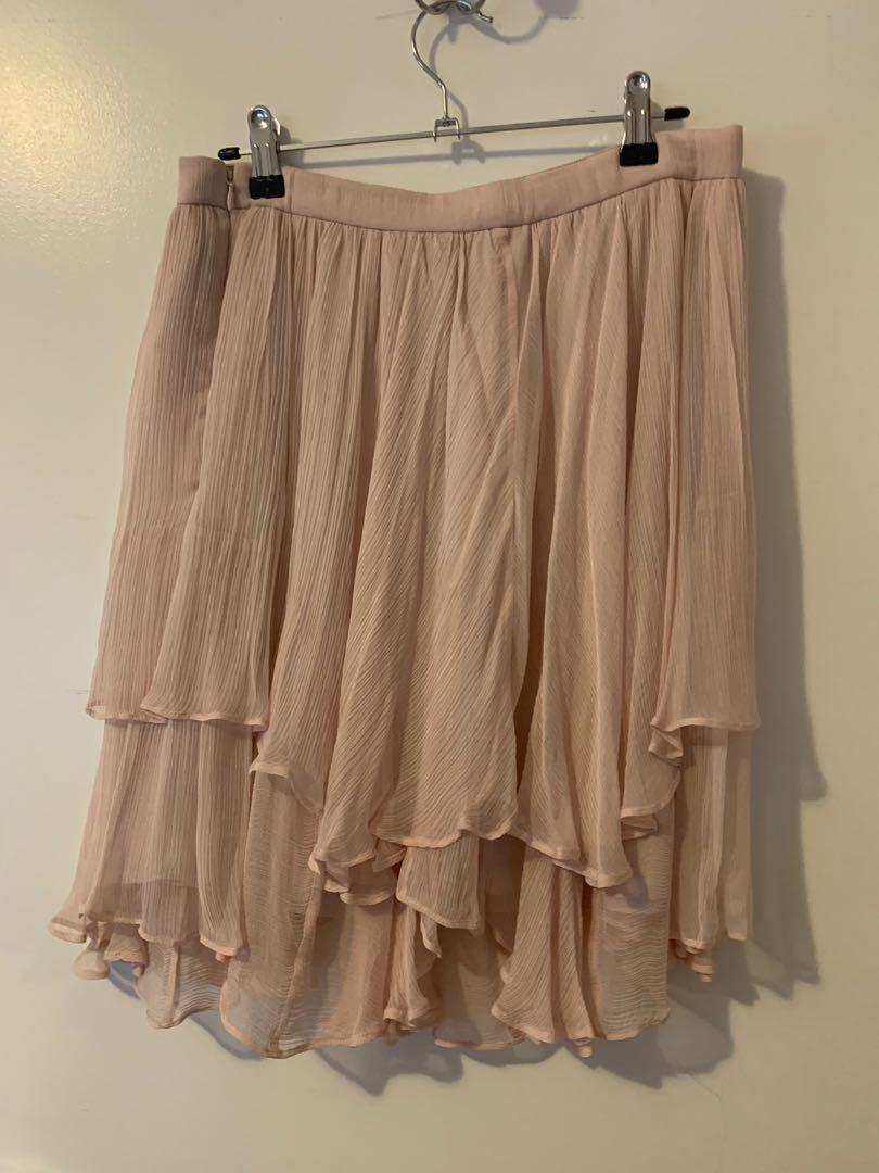 Brand new with tags Witchery Pink Skirt Size 10 RPR $159