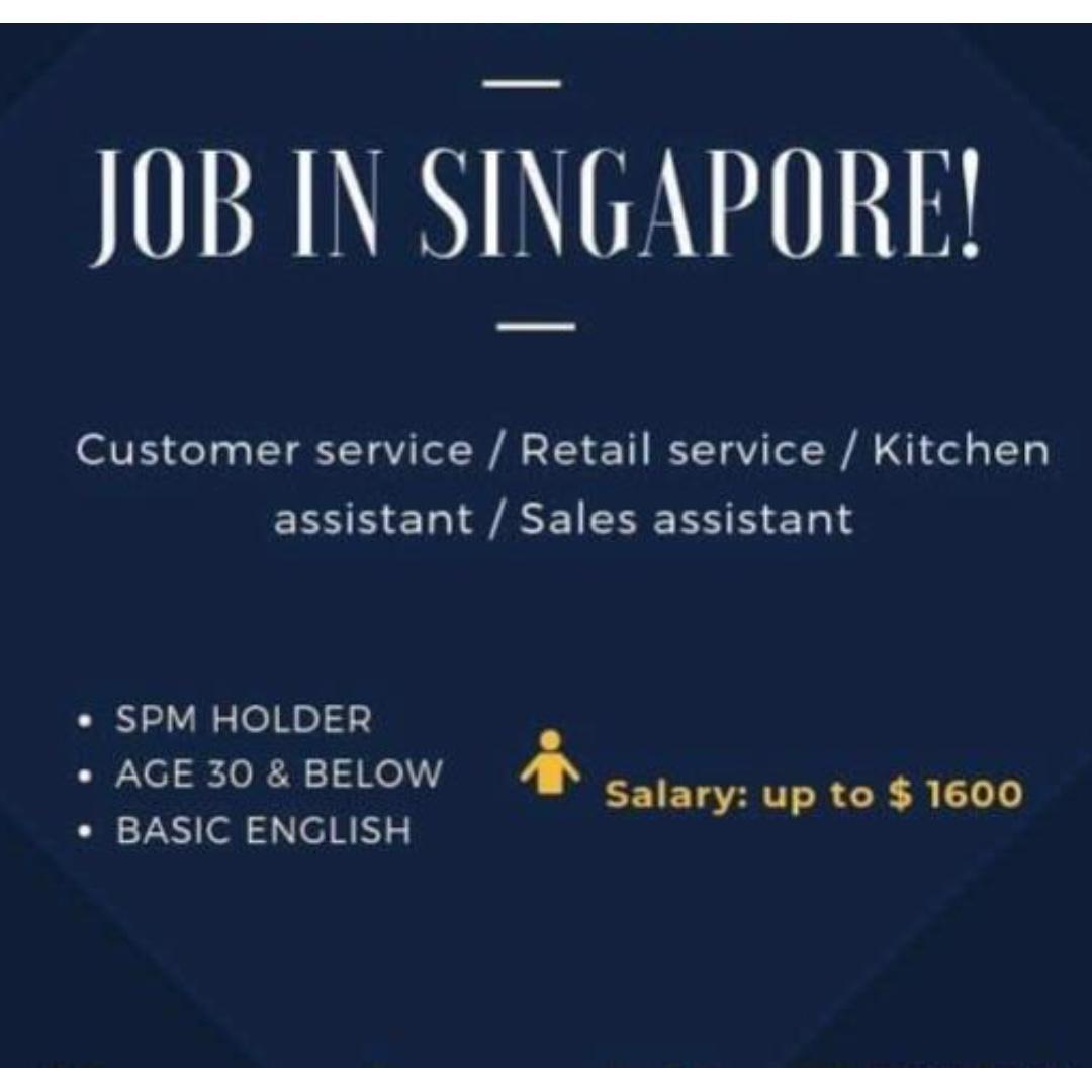 customer Service/Retail service/sales assistant/kitchen Ass