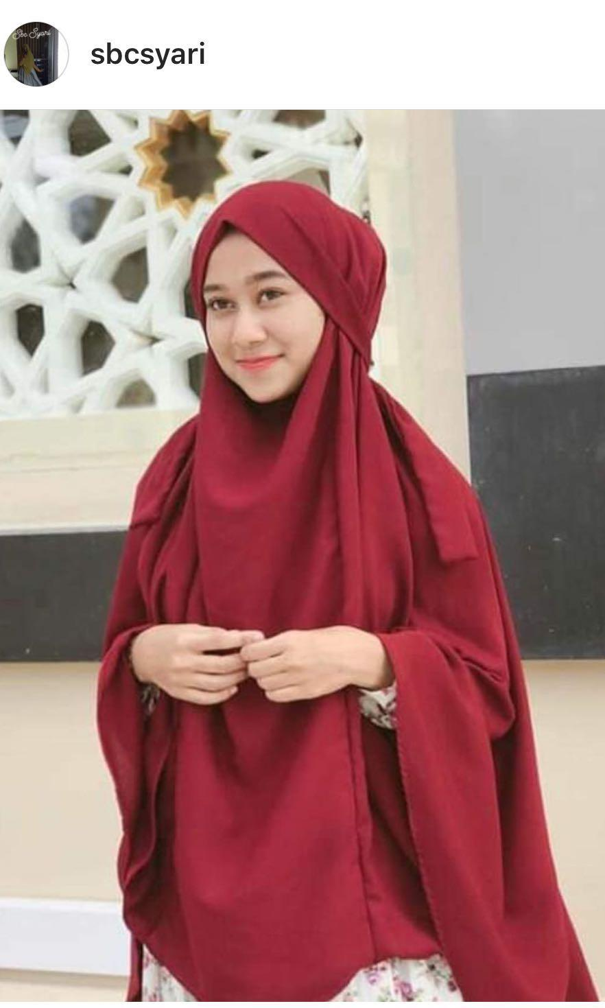 French khimar (nett)