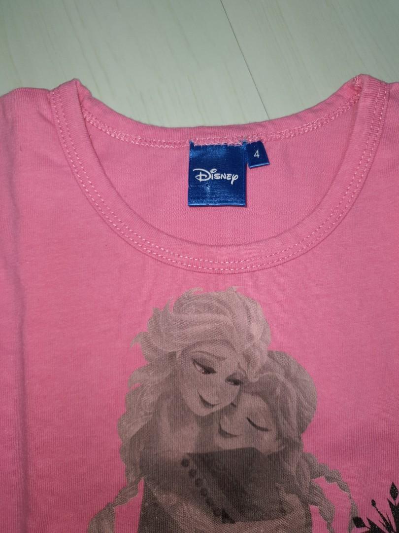 Frozen Top Original disney and Mermaid Organic Cotton no brand