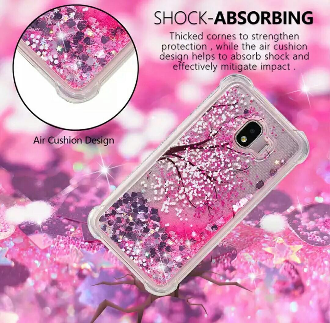 Glitter Pink Case Shockproof Air Cushion
