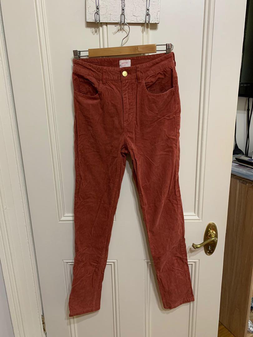 Gorman high waisted corduroy skinny jeans (size 26)