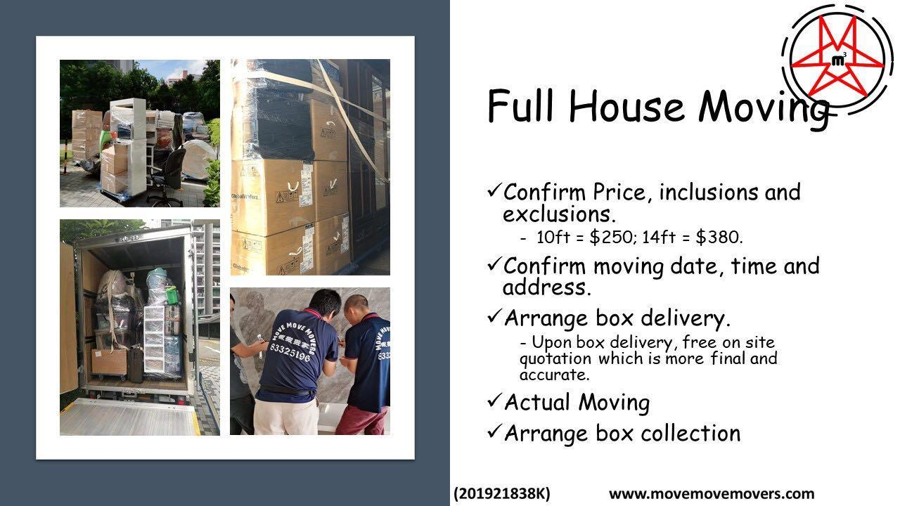 HDB FULL HOUSE MOVING