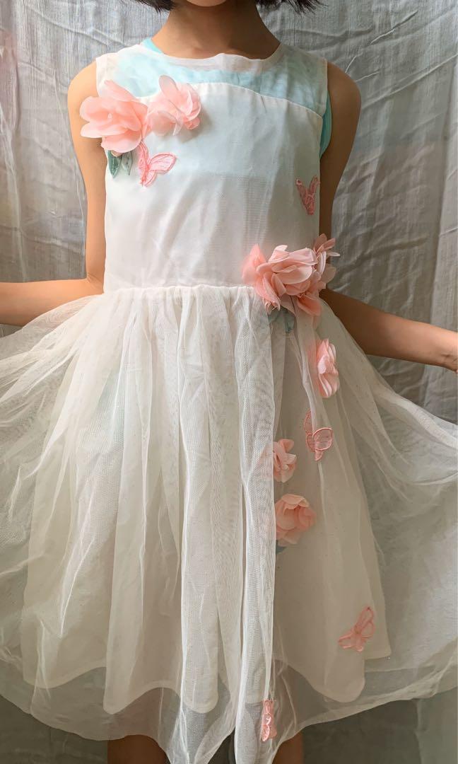 H&M 女童連身裙