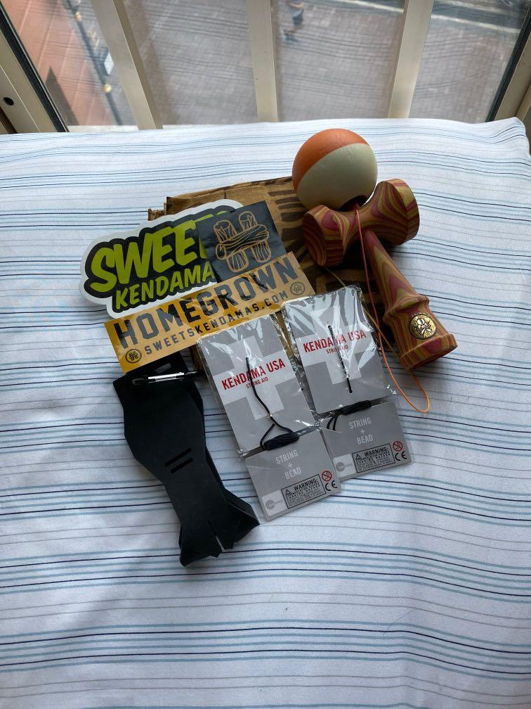 homegrown kendama set🤯