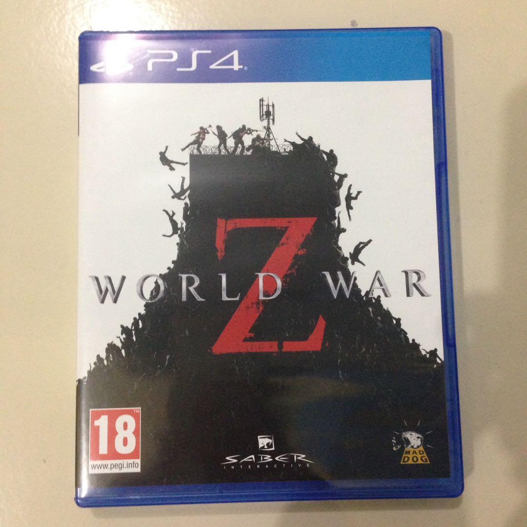 """Kaset PS 4 """"World War Z"""""""