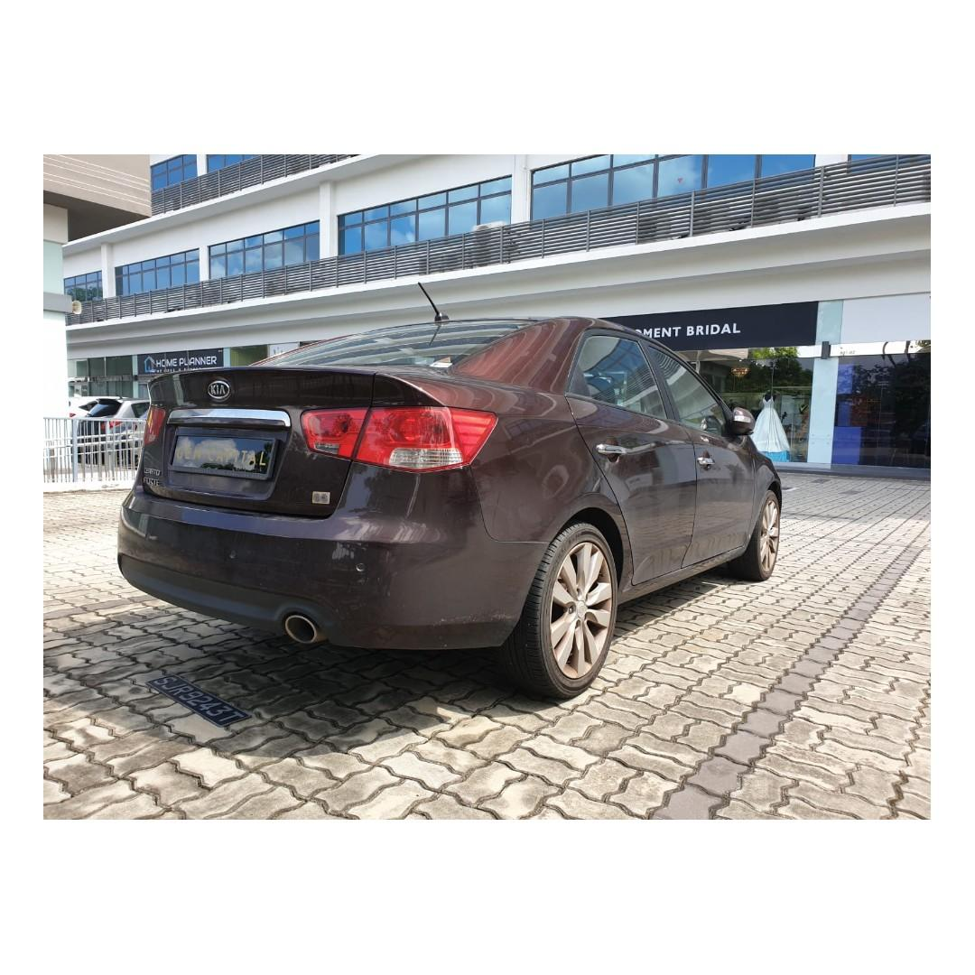 Kia Cerato - Many ranges of car to choose from, with very reliable rates!
