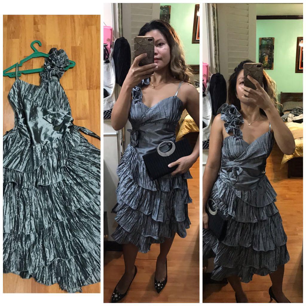 Layered Cocktail Dress