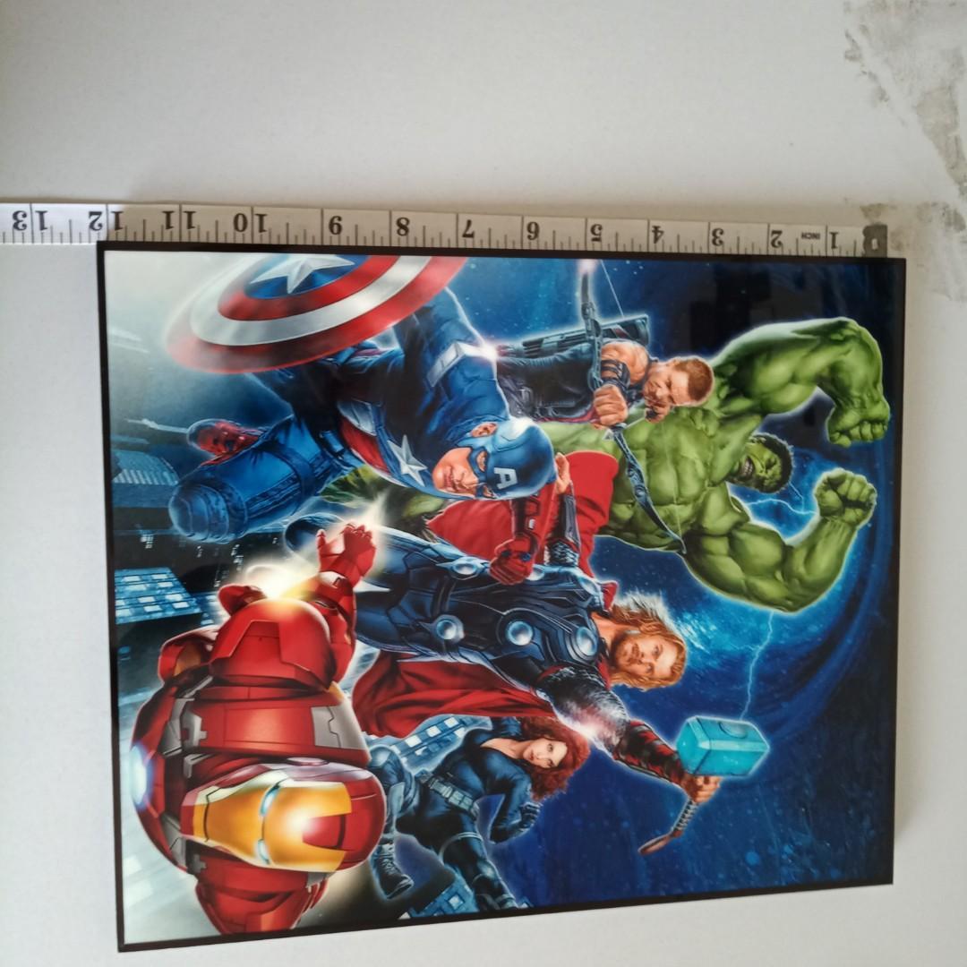 Marvel Avengers portrait art artwork