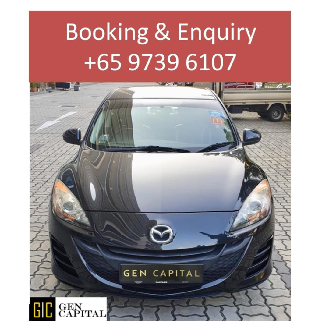 Mazda 3 - Lowest rental rates, with the friendliest service! @ 9739 6107