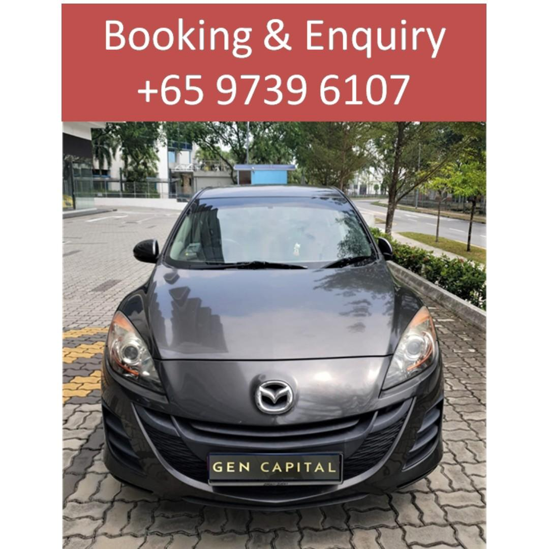 Mazda 3 - Many ranges of car to choose from, with very reliable rates!