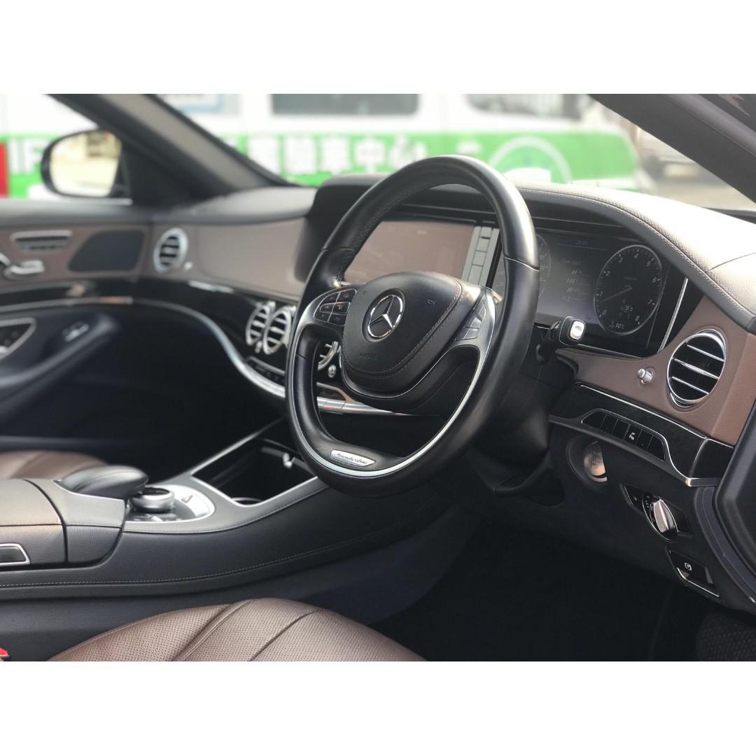 MERCEDES-BENZ S400 HYBRID 2014