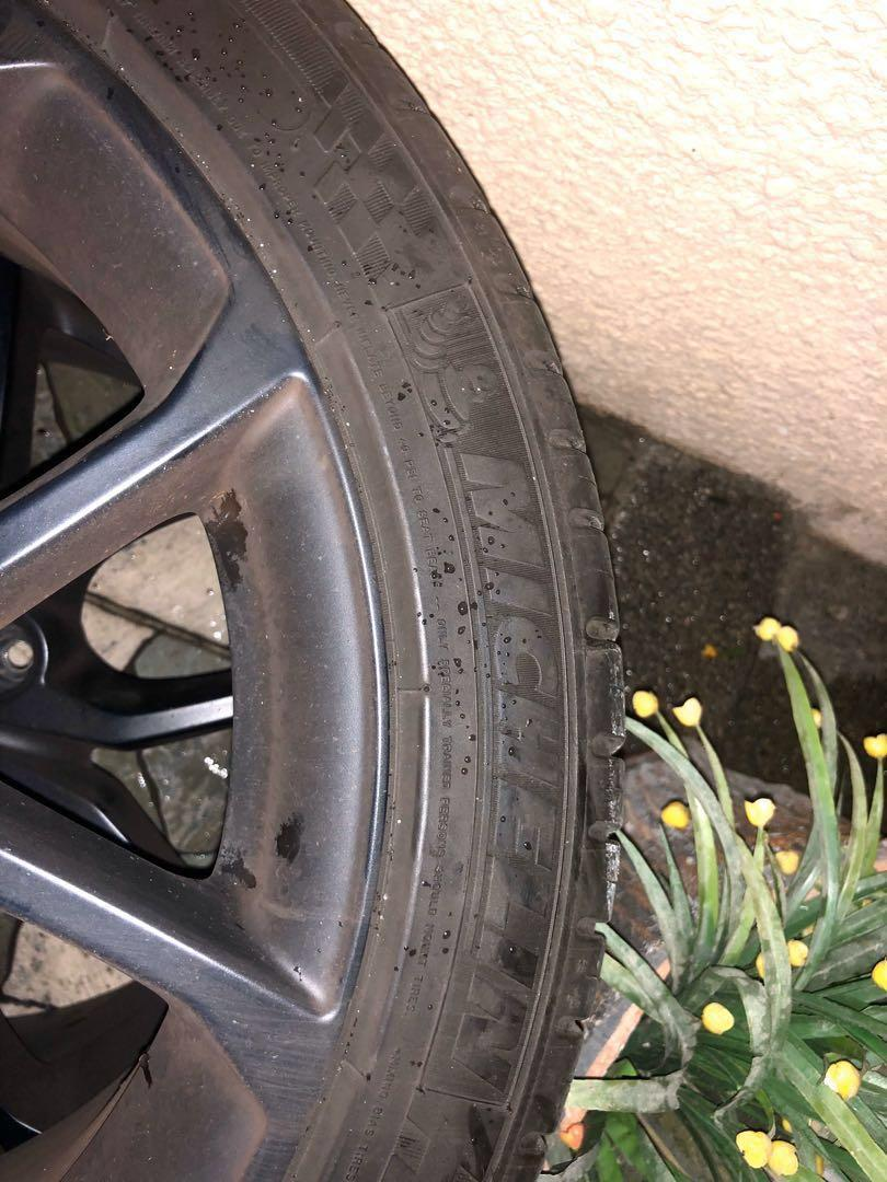 Michelin PS3 215/45/17- used but good