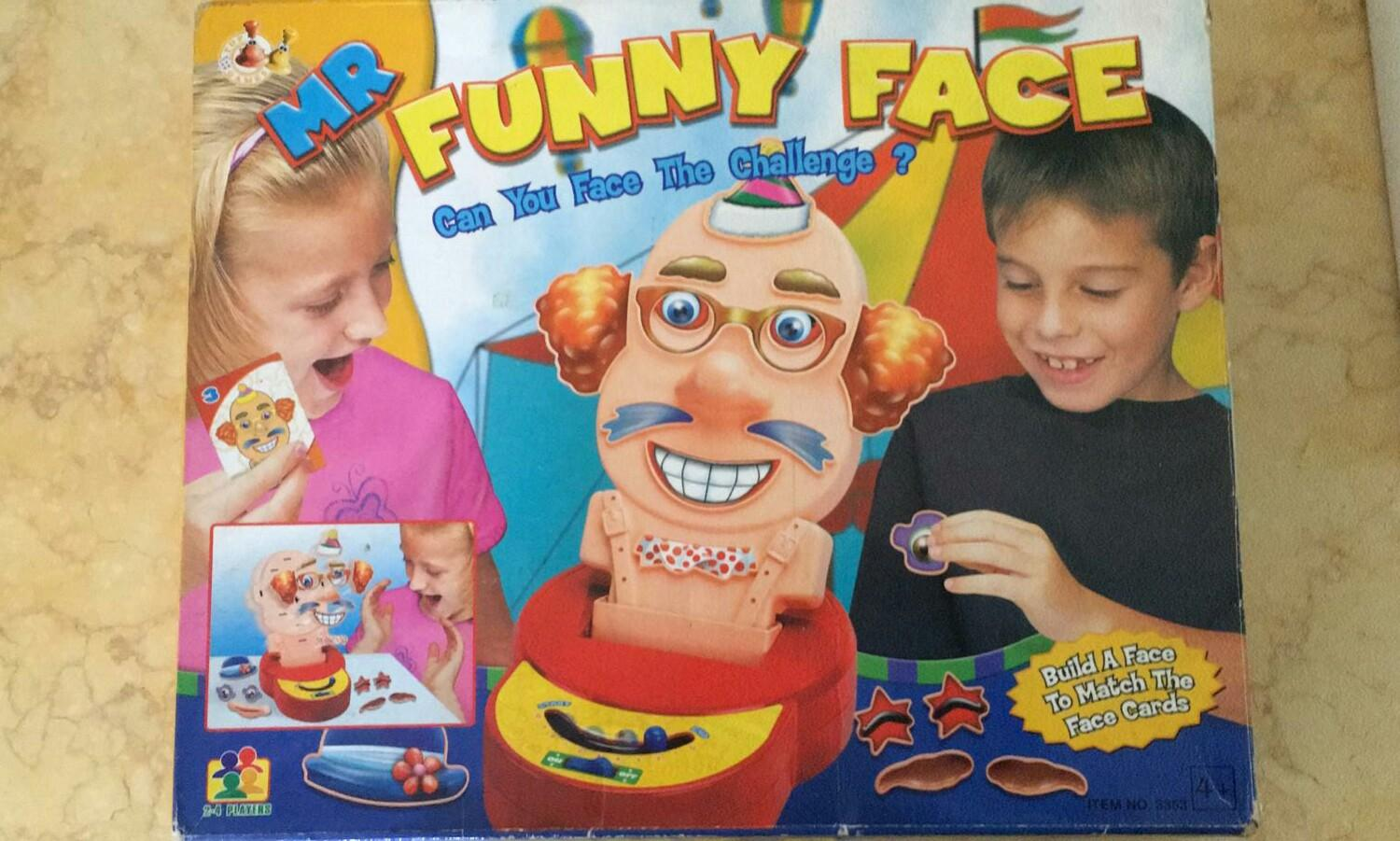 Mr Funny Face Game