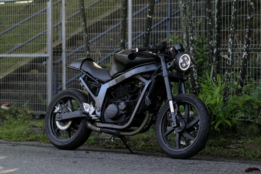 Naza Blade 250 Cafe Racer Motorbikes On Carousell