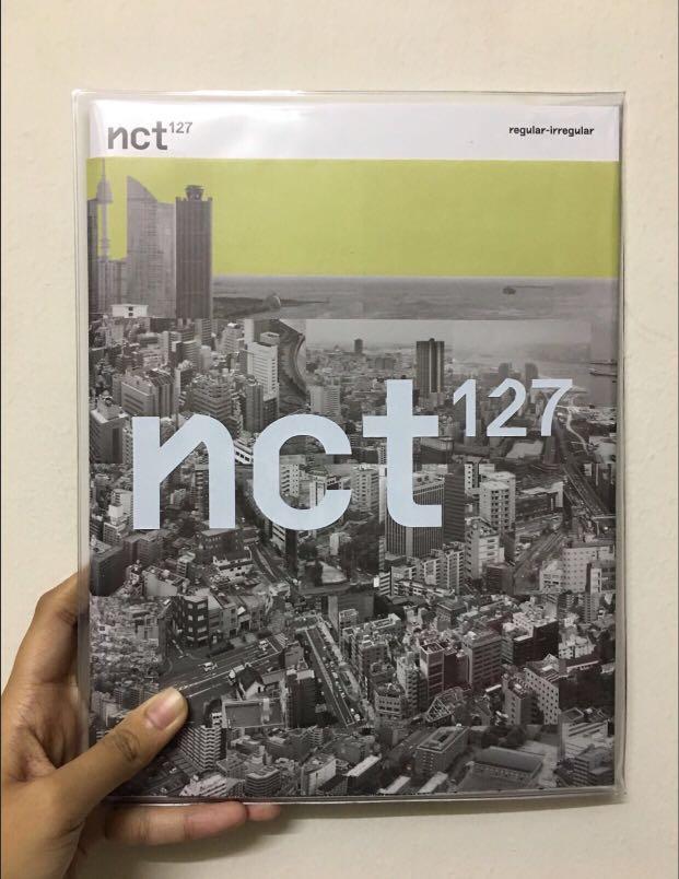 NCT 127 REGULAR-IRREGULAR ALBUM (IRREGULAR VERSION & REGULAR VERSION)