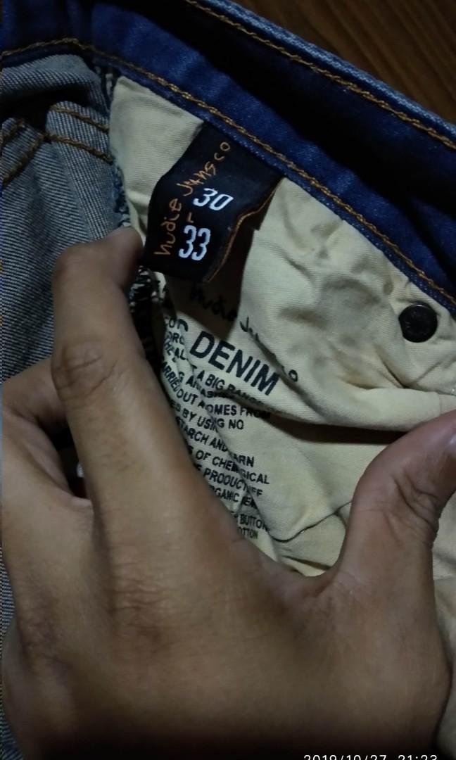 Nudie Jeans Sz 30 ORI , #mauovo