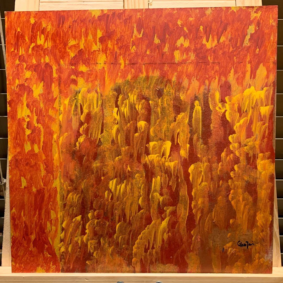 "Original Art Acrylic Painting ""The Deception"""