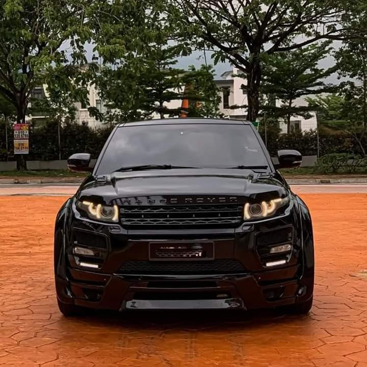 RANGE ROVER EVOQUE 2.0 STAGE 2 & HAMANN WIDEBODY (A)