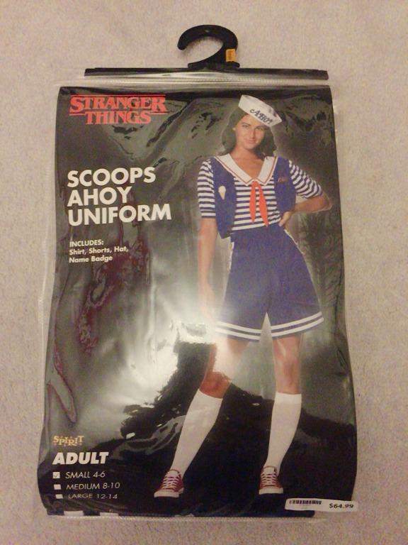 STRANGER THINGS SCOOPS AHOY ROBIN HALLOWEEN COSTUME